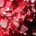 cristal rojo